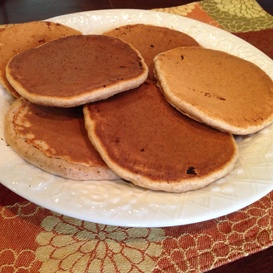 Spiced Whole Wheat Pancakes