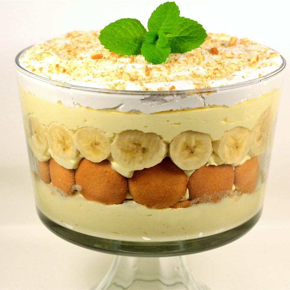 No Cook Banana Pudding Base