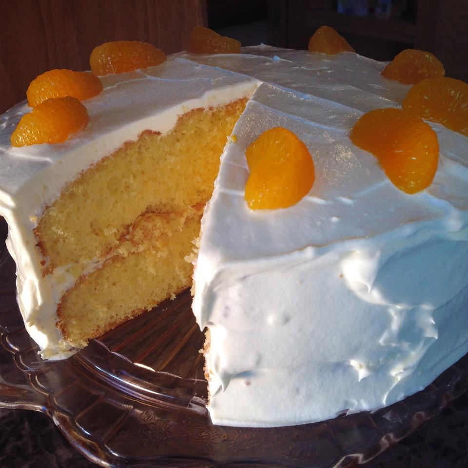 Mandarin Orange Cake II