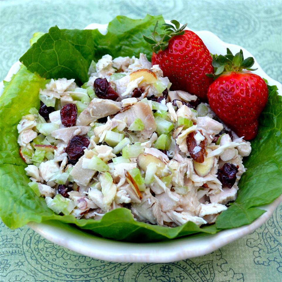 Cranberry and Turkey Salad