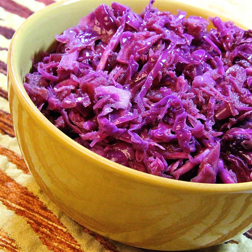 Tangy Warm Red Cabbage