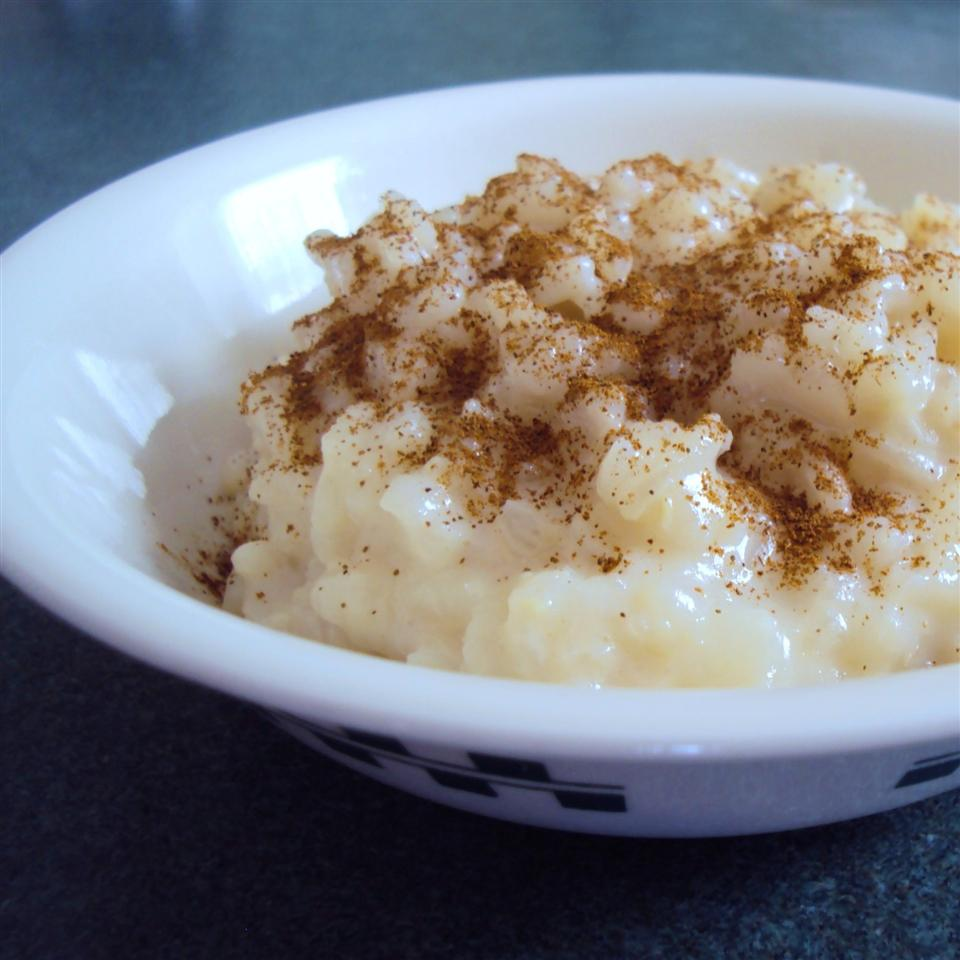 Brown Sugar and Cinnamon Rice Pudding