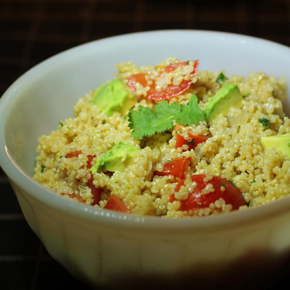 Guacamole-Style Quinoa