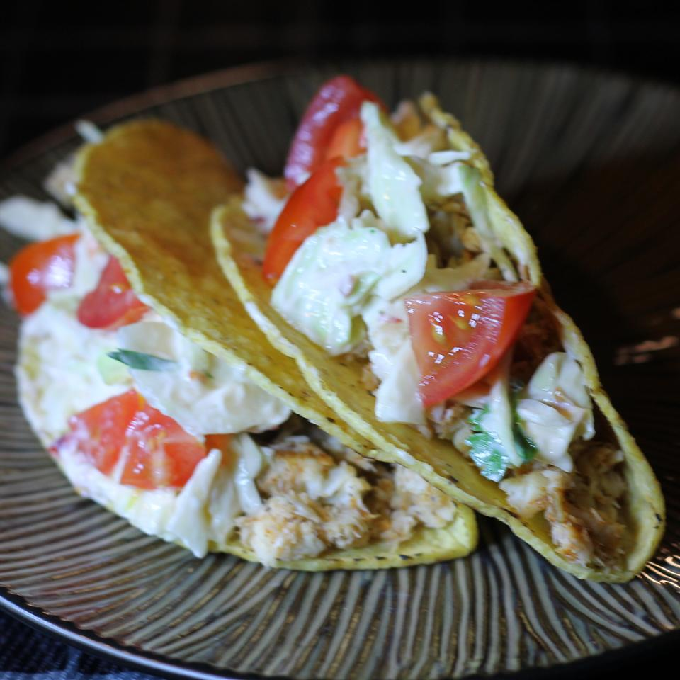Spicy Fish Tacos with Fresh Lime Sauce Volleyballmom