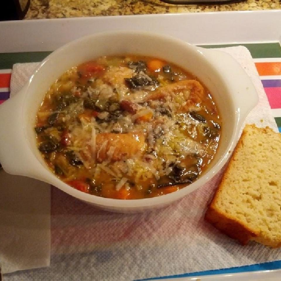 Ribollita (Reboiled Italian Cabbage Soup) Lyn Galiote