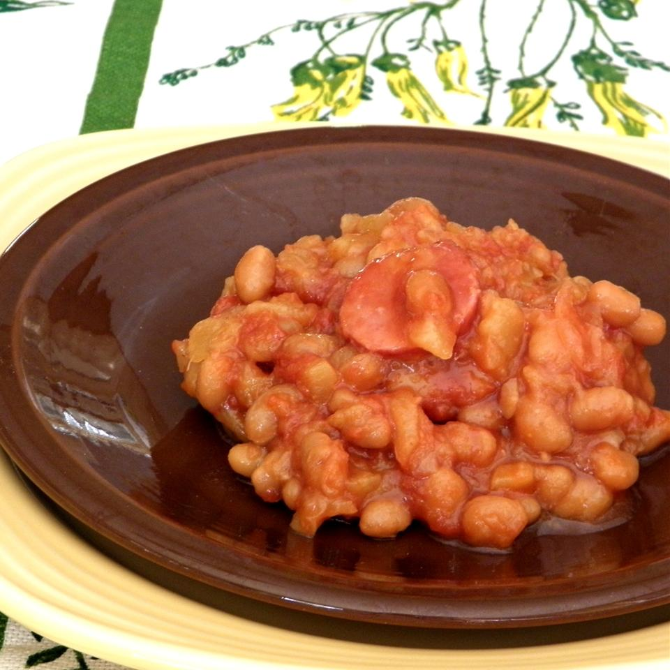 Tropical Island Baked Beans Joey Joan
