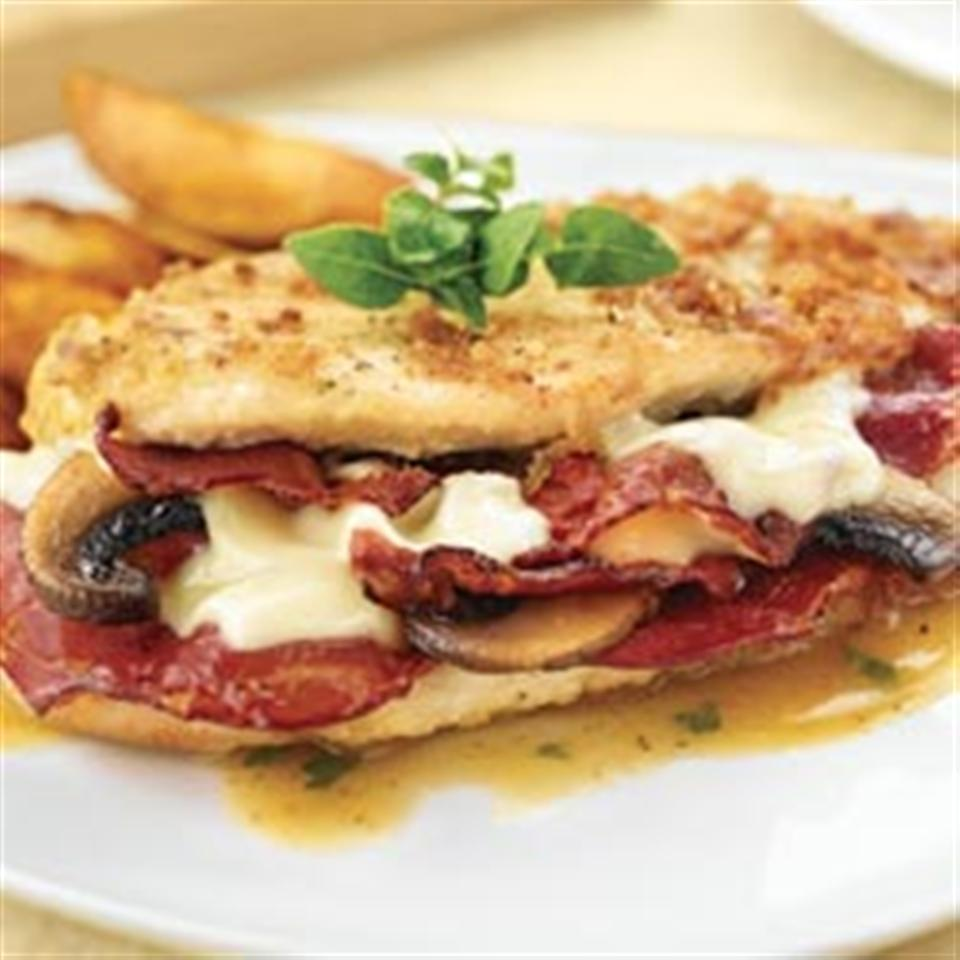 Stuffed Chicken with Margherita® Capicola Trusted Brands