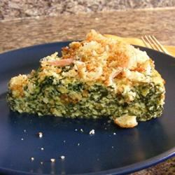 Spinach Quiche with Cottage Cheese Farkinguy