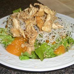 Asian Chicken Salad Julie