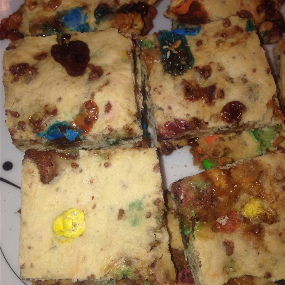 Leftover Halloween Candy Brownies! Mike