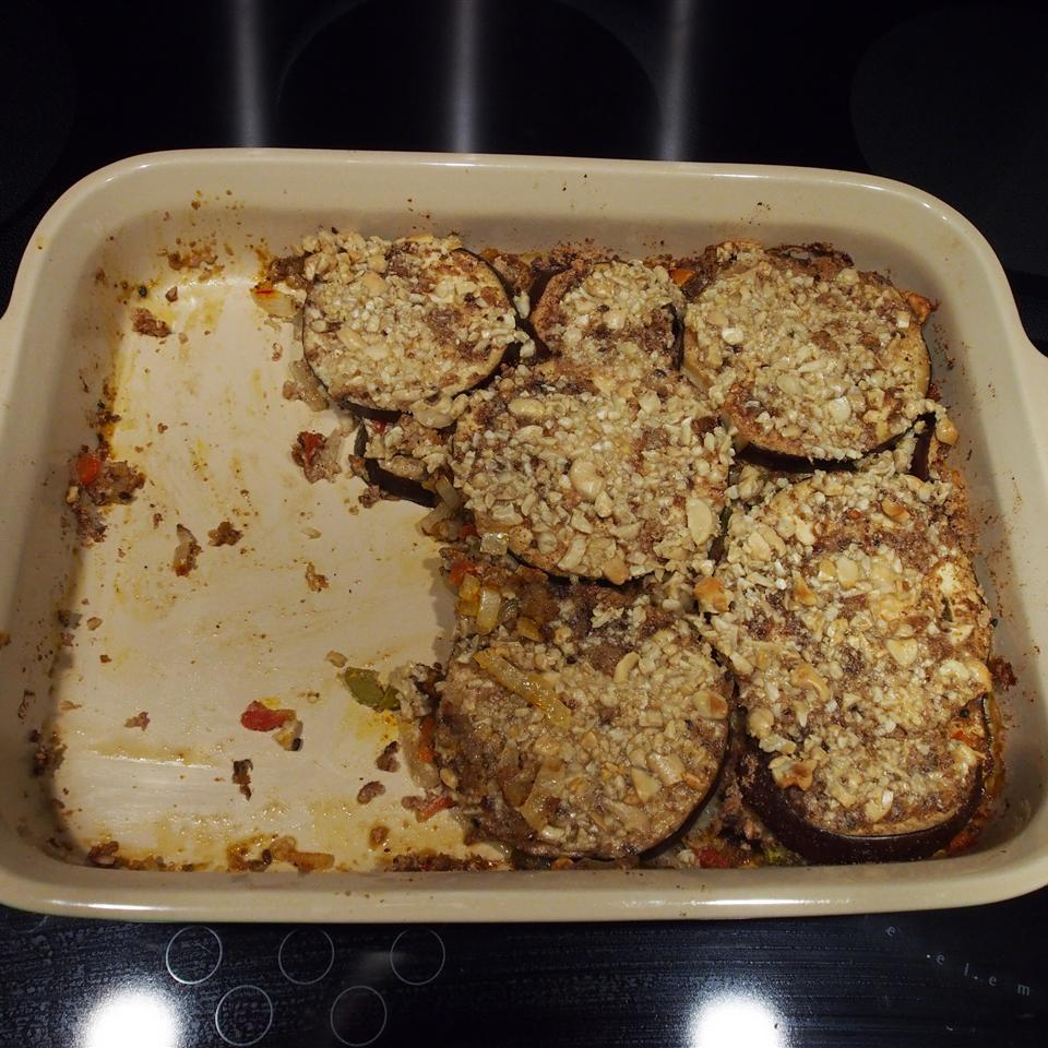 Baked Eggplant with Cashews a987checkers