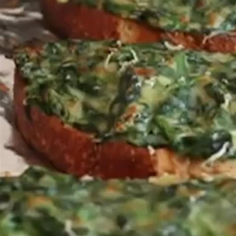 Chef John's Simple Spinach Toasts