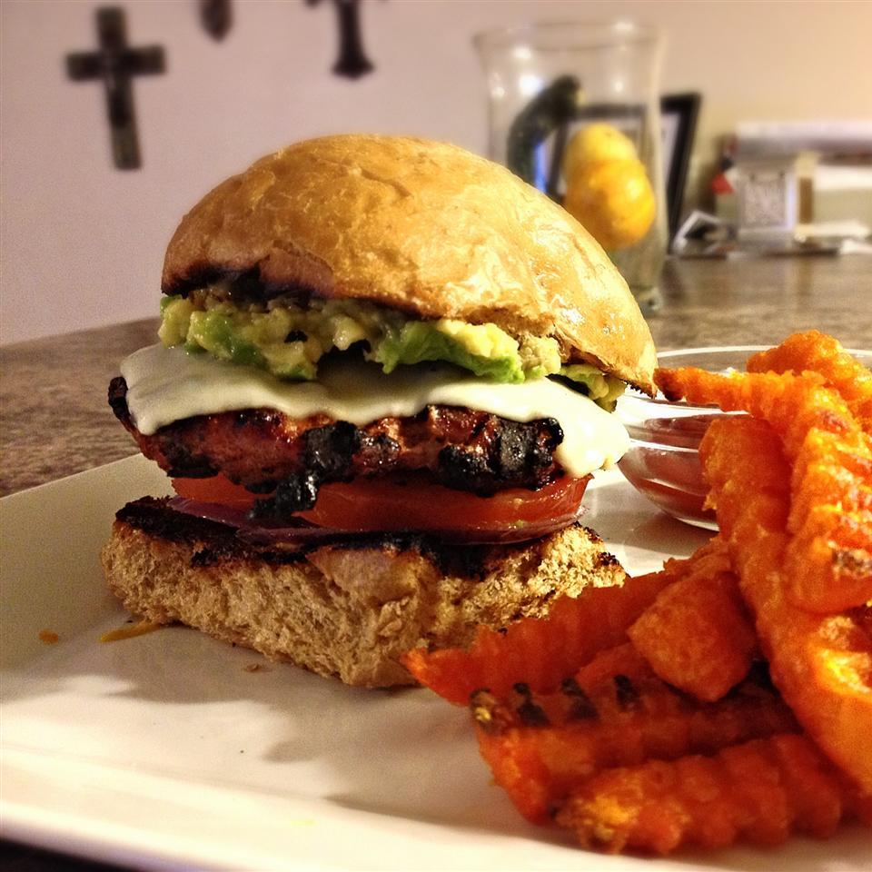 Spicy Chipotle Turkey Burgers