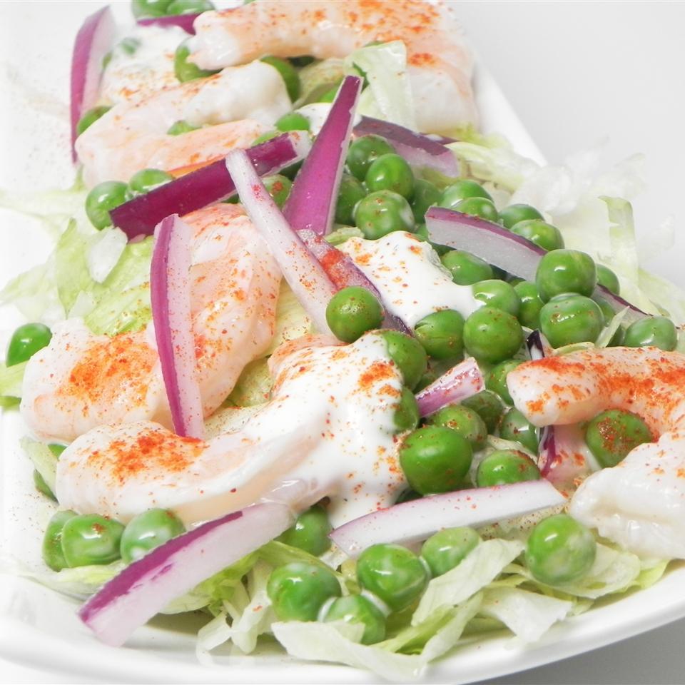 Shrimp and Pea Salad