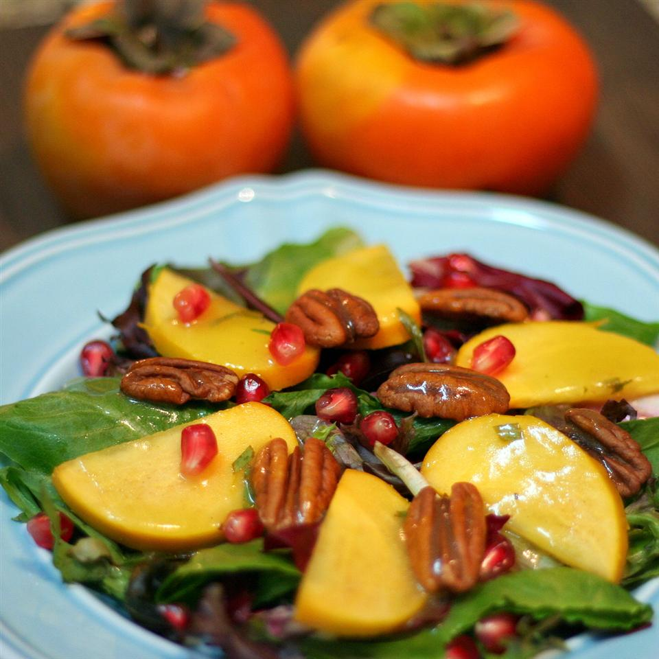 Persimmon and Pomegranate Salad Jennifer Baker