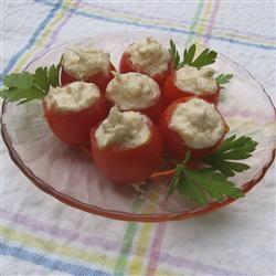 Creamy Shrimp Stuffed Cherry Tomatoes ChristineM