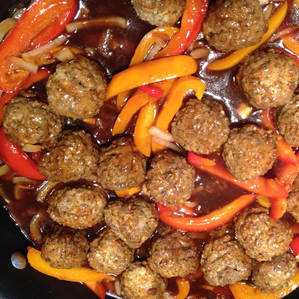 Oh So Easy Sweet and Sour Meatballs Suz