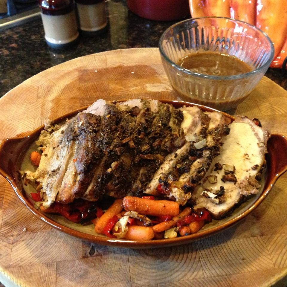 Cajun Roasted Pork Loin