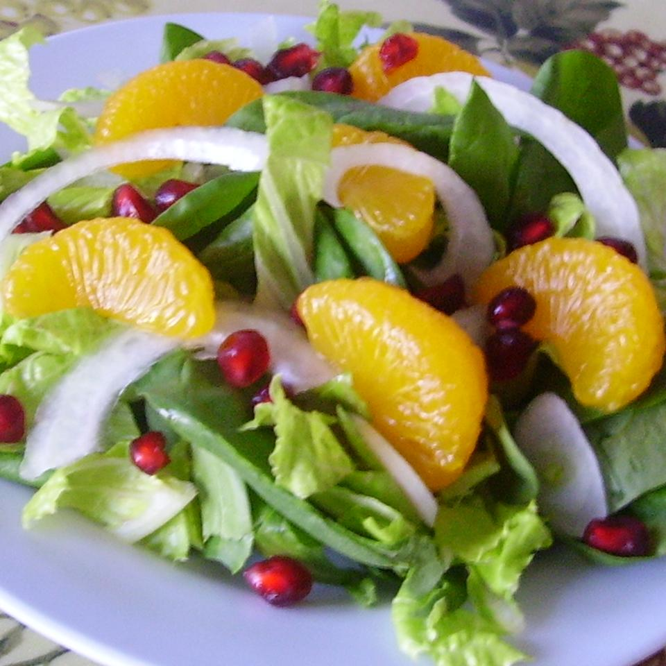 Pretty Pomegranate Salad