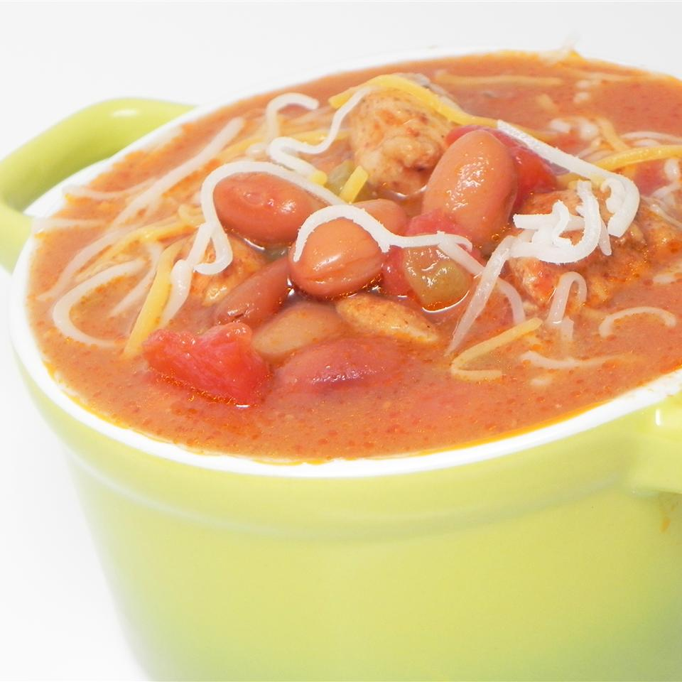 Creamy Slow Cooker Green Chili Chicken Soup Beccaham