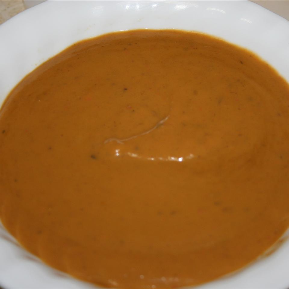 Portobello Mushroom and Sweet Potato Soup