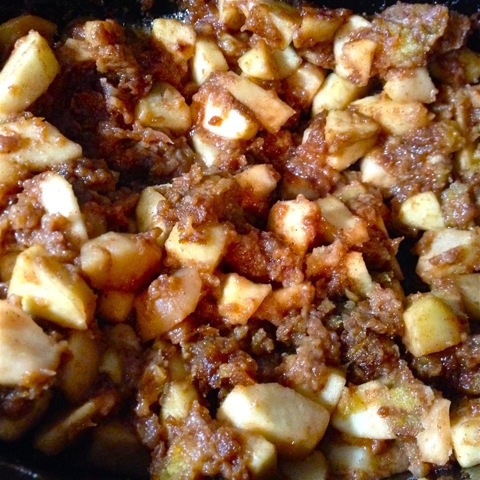 Slow Cooked Apple Brown Betty Meghan Mangan