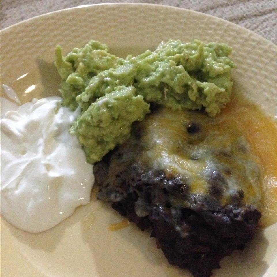 Avocado and Black Bean Dip karenskitchenlol