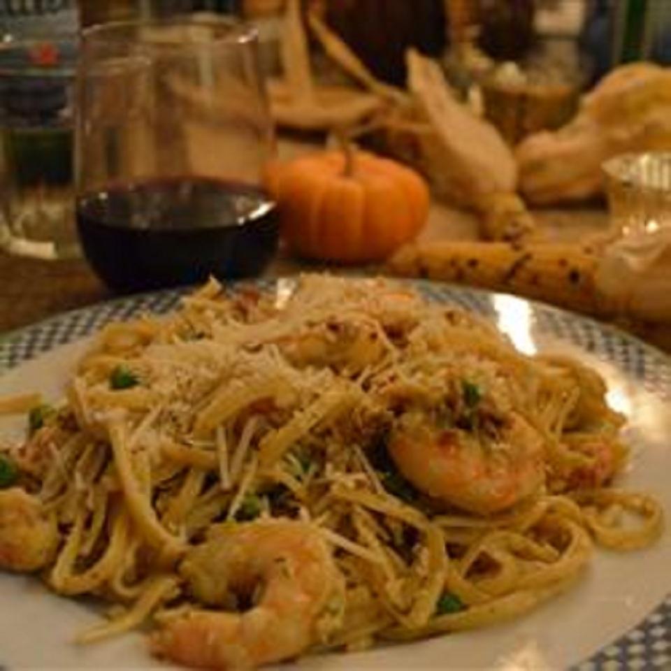 Amazing Shrimp and Langostino Lobster Linguine