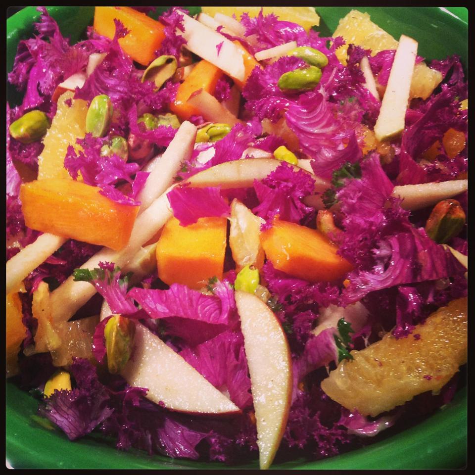 Chef John's Raw Kale Salad Malkin