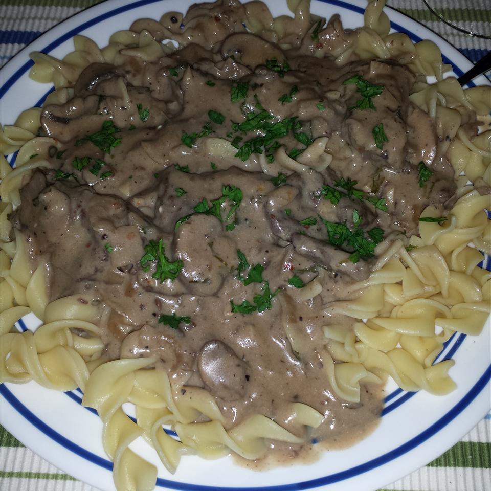 Portobello Mushroom Stroganoff bellis03