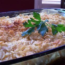 Potato Chip Chicken Casserole Traci-in-Cali