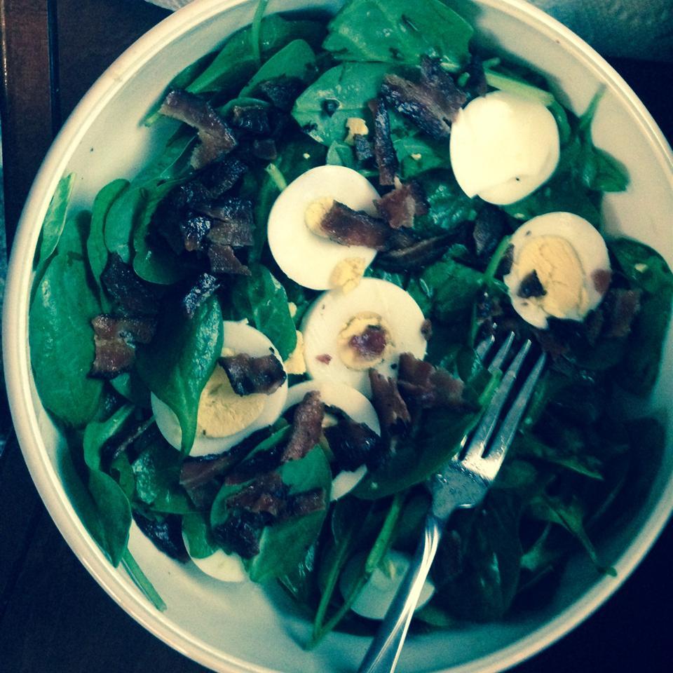 Wilted Lettuce Salad Robin Fenner