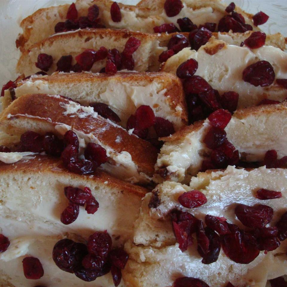 Cranberry Bread Pudding Debbie