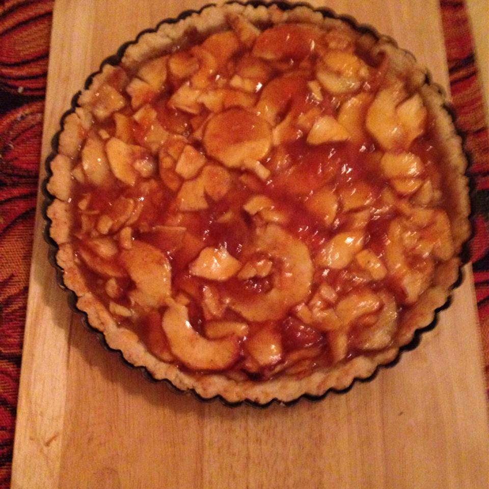 Rustic Autumn Fruit Tart
