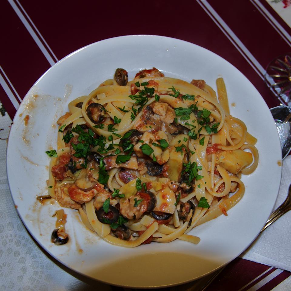 Mediterranean Pasta italianpi
