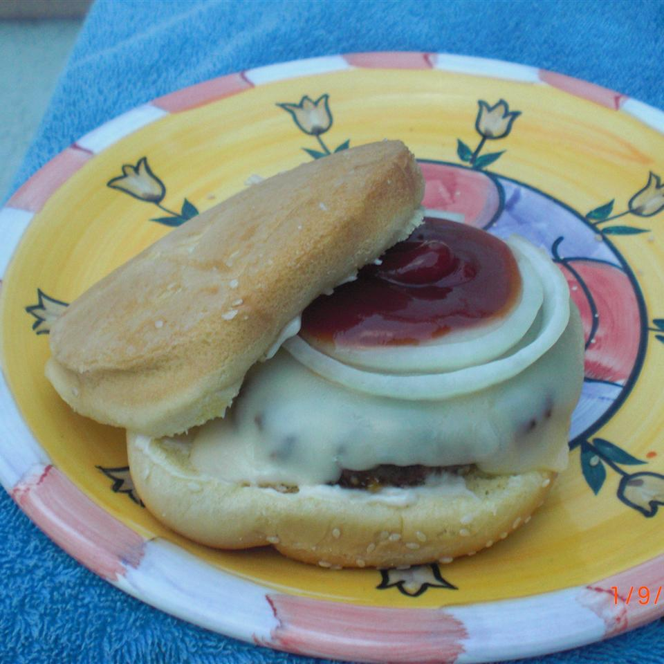 Fancy Hamburgers Patty Cakes