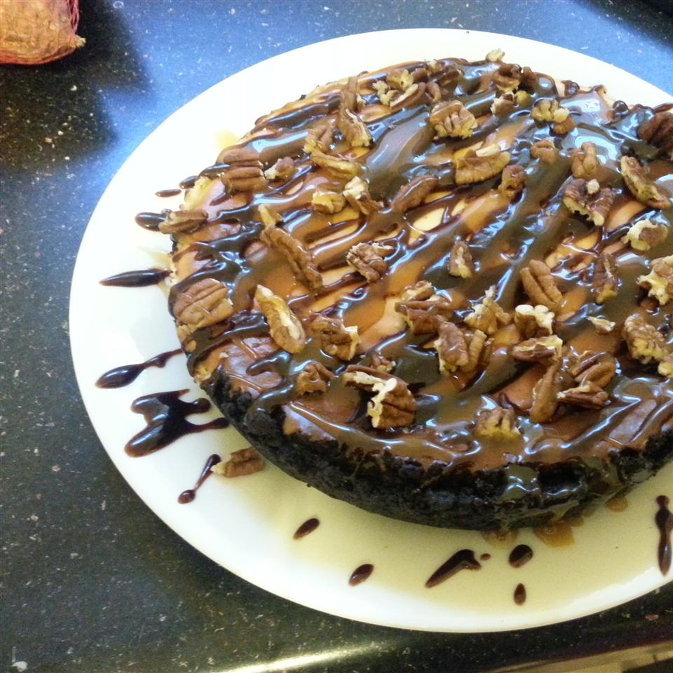 Chocolate Turtles® Cheesecake Darlissa Tisdale