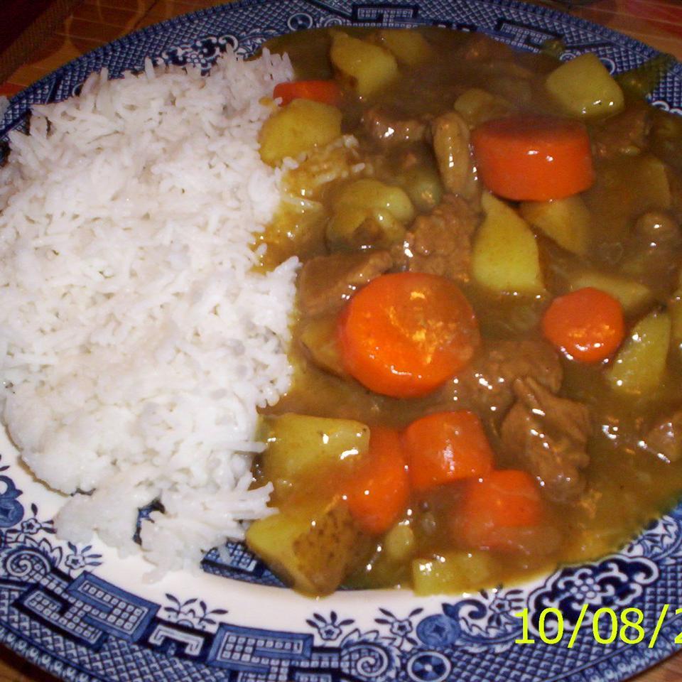 Beef Curry Soup sweet sakura