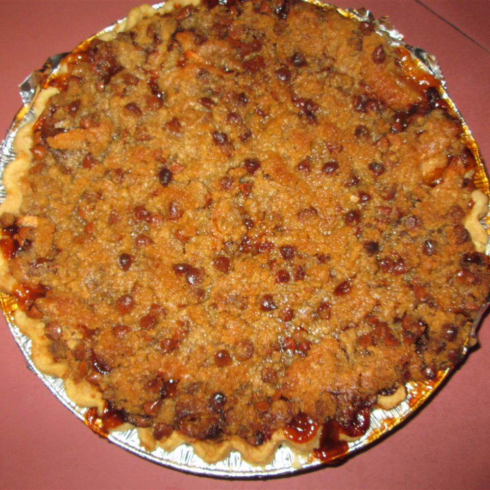 Apple Crunch Pie with Vanilla Sauce Siobhan Piercey