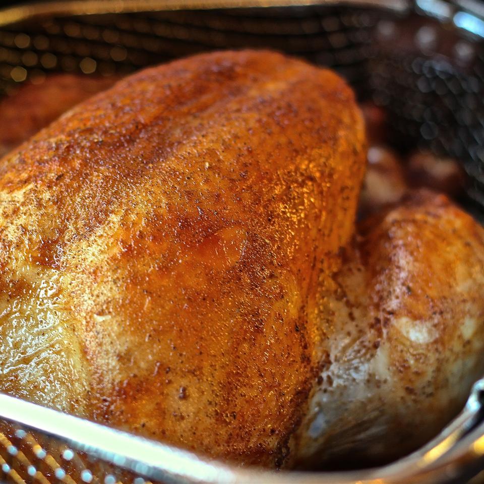 Erick's Deep Fried Rosemary Turkey
