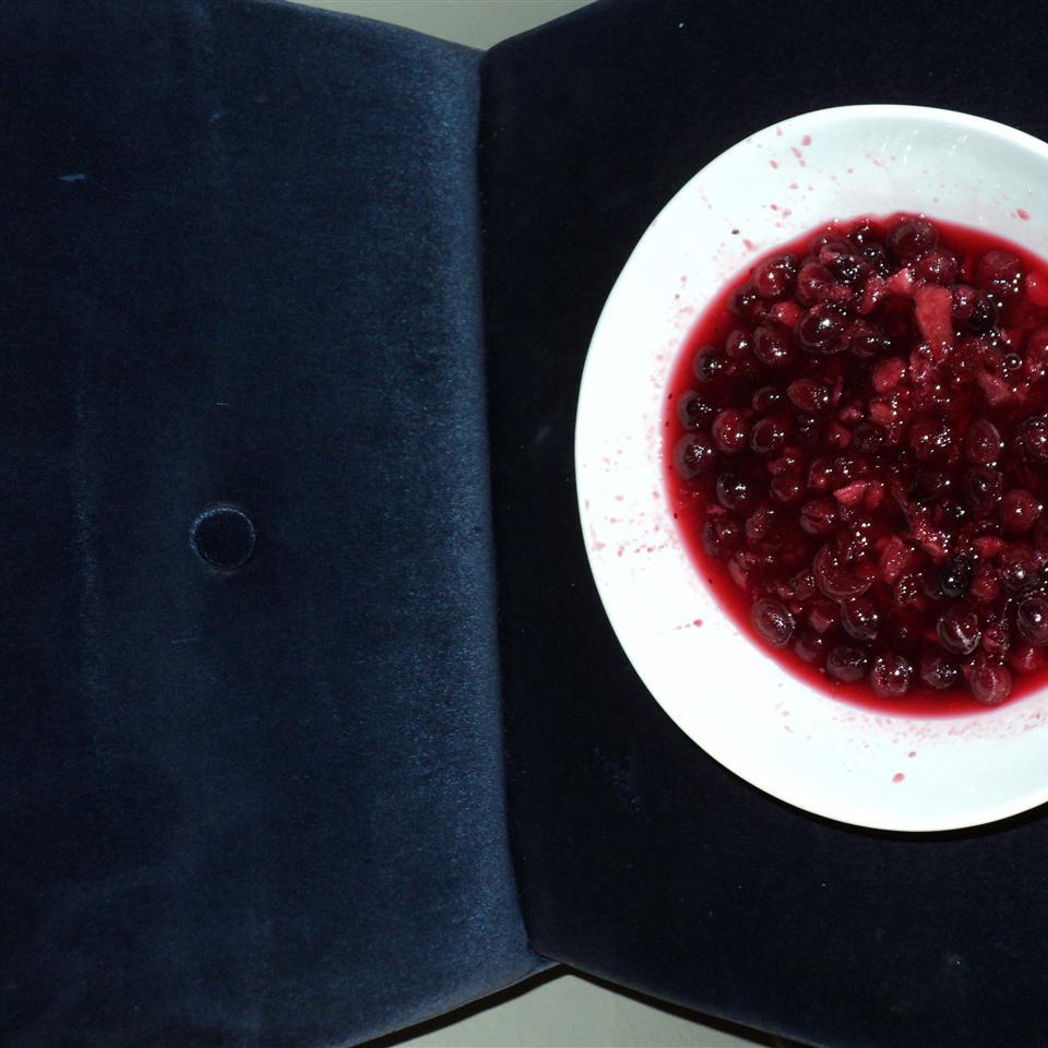 Pear Honey Cranberry Sauce