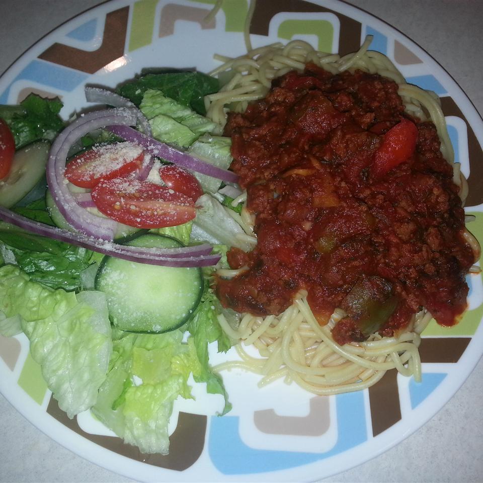 Mom's Sweet Spaghetti Sauce Jacklyn Lieu