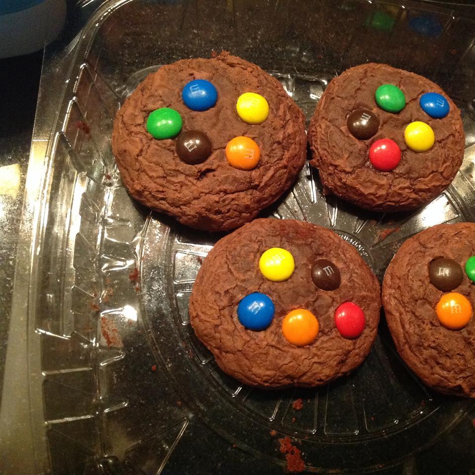 Easy Brownie Mix Cookies