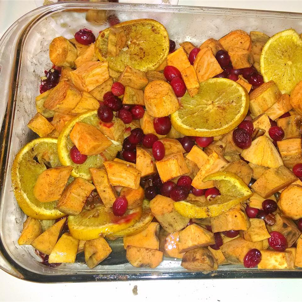 Sweet Potato Cranberry Bake Shelley