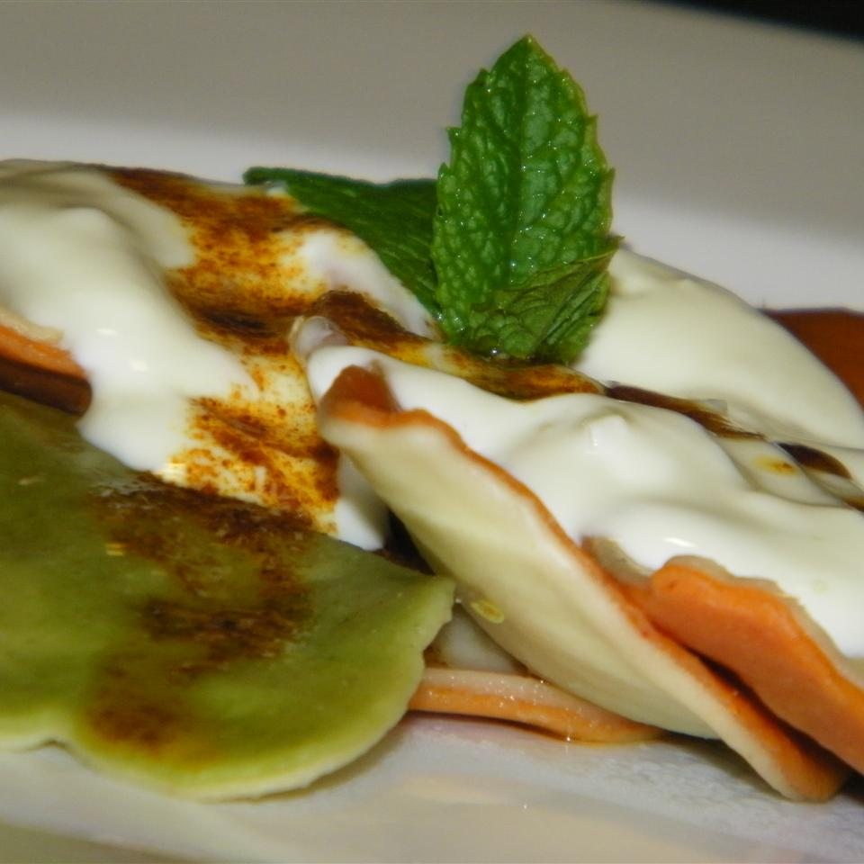 Manti (Turkish 'Ravioli' with Yogurt Sauce) Seattle2Sydney