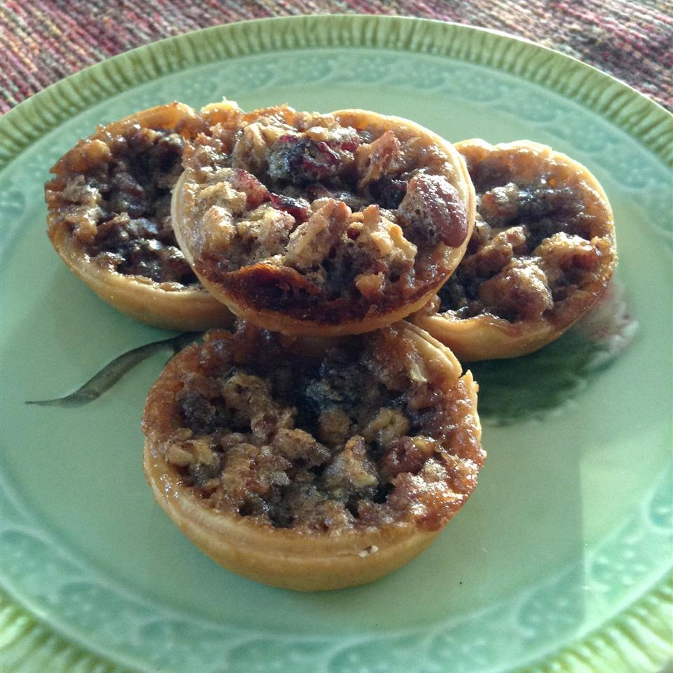 Pecan Cranberry Butter Tarts cheesemite