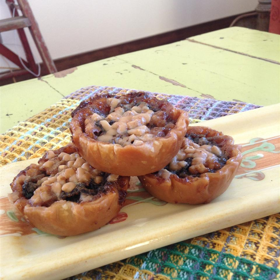 Toffee Cherry Butter Tarts cheesemite