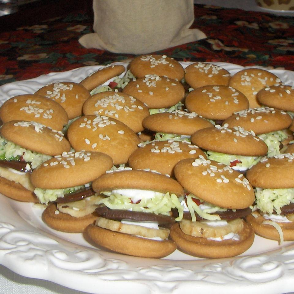 Hamburger Cookies Sheri Bogna