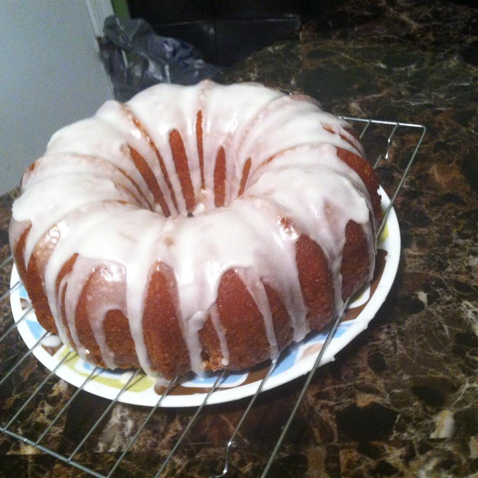 Glazed Lemon Supreme Pound Cake