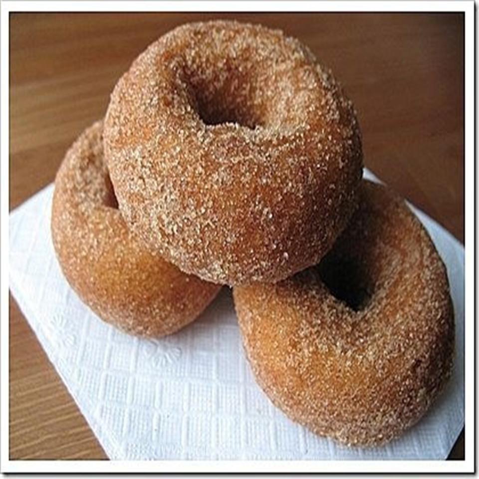 Baked Apple Doughnuts summer